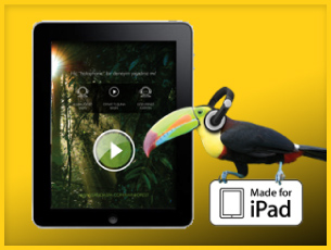 "Sanda Spa ""A Holophonic Rainforest Experience"" on iPad"