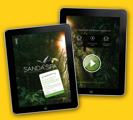 Sanda Spa Holophonic Experience on iPad