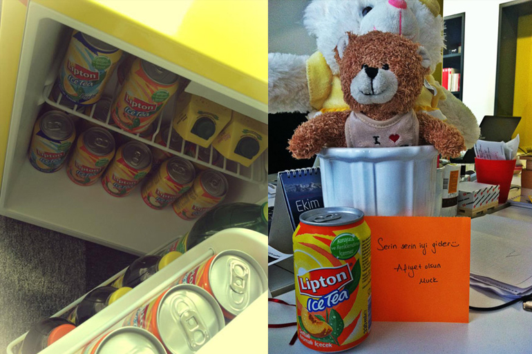 "Lipton Ice Tea'den ""Random Act Of Kindness""-0"